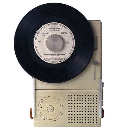 TP2CombinationRadioRecordPlayer