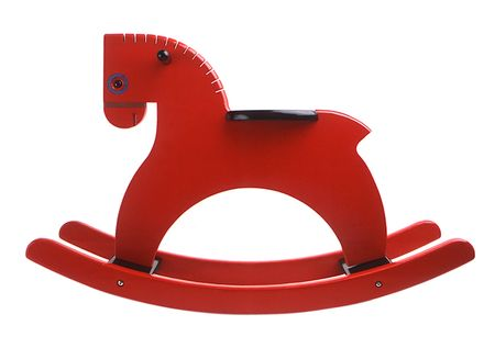 Playsam Rocking Horse Red
